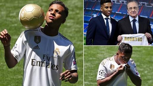 Thêm tân binh chính thức ra mắt Real Madrid