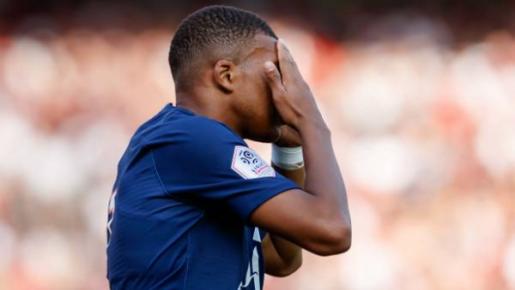 Mbappe tịt ngòi, PSG gặp khó trước đội vừa xuống hạng