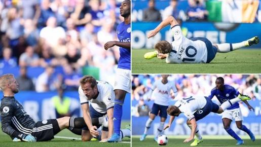 Hài hước! Harry Kane đi bóng, té chổng vó và... vấp phải bàn thắng