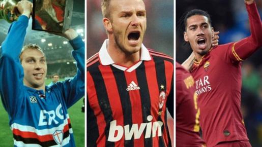 10 ngôi sao người Anh nổi bật nhất từng 'du học' tại Serie A