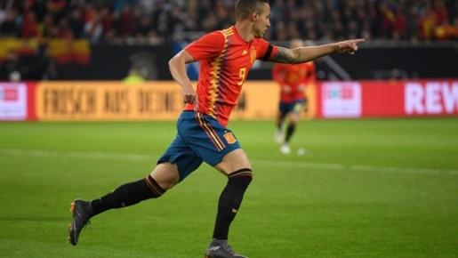 Barca chốt 'kẻ thay thế Suarez', là tay săn bàn của ĐT Tây Ban Nha