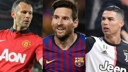 10 vua kiến tạo C1: Ronaldo, Messi vẫn dẫn đầu