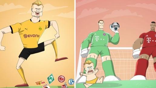 Cười vỡ bụng với loạt ảnh chế Bayern đả bại Dortmund