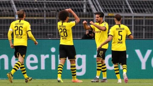 Sancho bỏ lỡ kinh điển, Dortmund vẫn thắng nhọc Hertha Berlin