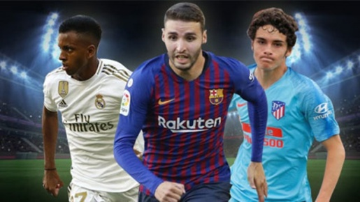 Top 10 tài năng trẻ sáng giá nhất La Liga 2019/2020: 'Hàng thải' Real dẫn đầu