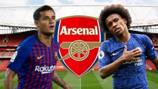 Có Willian & Coutinho, đội hình Arsenal đáng gờm ra sao?