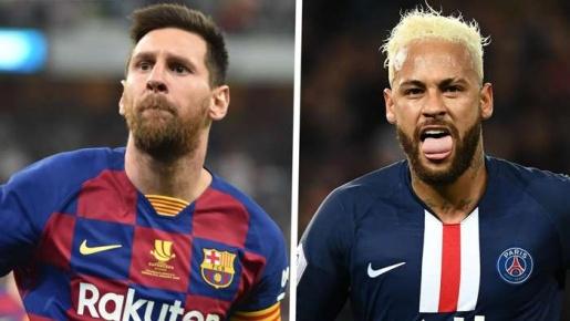 Neymar tái hiện Lionel Messi của năm 2008