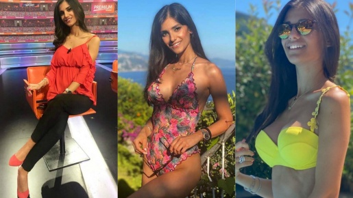 Jessica Tozzi - Mỹ nhân của các kênh thể thao Ý