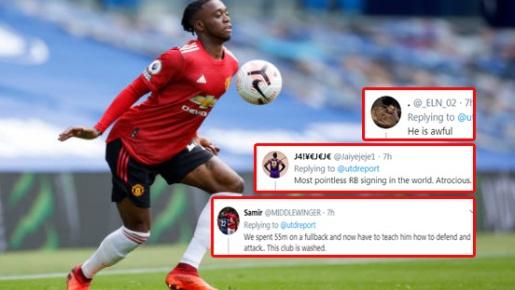 CĐV Man Utd: 'Bỏ ra 55 triệu euro và giờ phải dạy cậu ta phòng ngự à?'