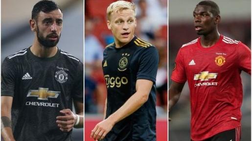 CĐV M.U: 'Đó là cách chúng ta có thể kết hợp Pogba - Bruno - Van de Beek'