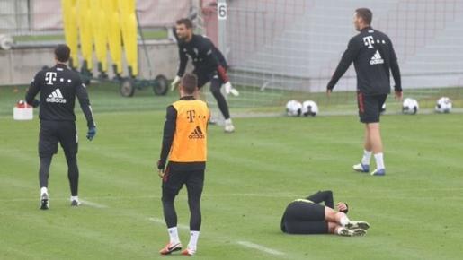 Bayern lại đau đầu vì 'drama' ẩu đả trên sân tập