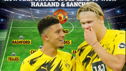 Nếu thành công 5 thương vụ 'tin đồn', đội hình Man Utd khủng cỡ nào?