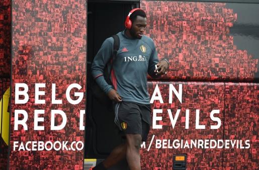 Romelu Lukaku, tiền đạo sinh năm 1993 luôn được kỳ vọng trên hàng công của tuyển Bỉ. Ảnh: Internet.