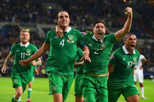 Ireland có rất nhiều kỉ niệm đáng nhớ với EURO. Ảnh: Internet.