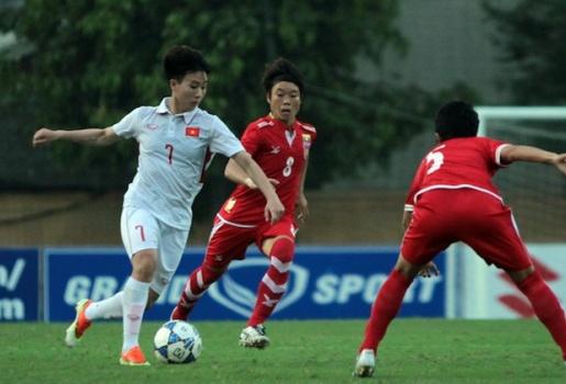 AFC chọn Tuyết Dung là cầu thủ đáng xem nhất của ĐT nữ Việt Nam