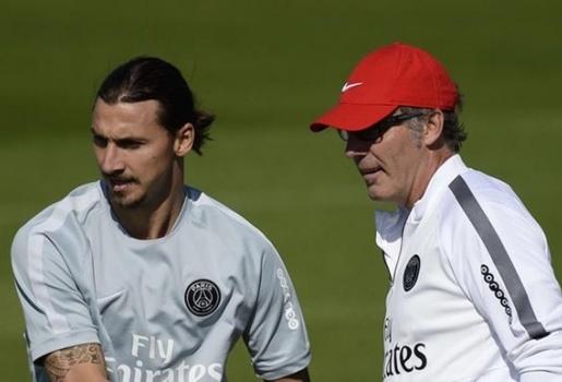 HLV Laurent Blanc để mở khả năng cho Ibrahimovic ra đi