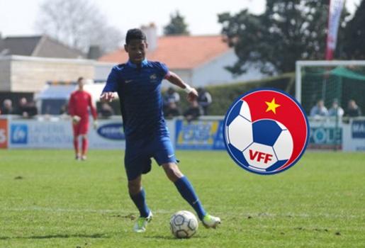 VFF bật đèn xanh cho cựu sao U18 Pháp khoác áo ĐT Việt Nam
