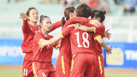 Nữ Việt Nam 4-0 Nữ Philippines: Vé bán kết trong tầm tay