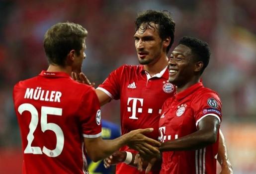 20h30 ngày 17/09, Bayern Munich vs Ingolstadt: Dạo chơi ở Allianz Arena