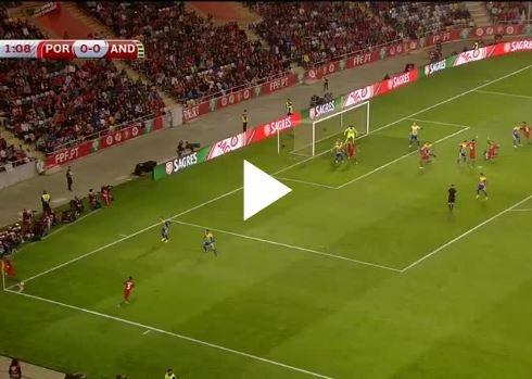 Bồ Đào Nha 6-0 Andorra (vòng loại World Cup)