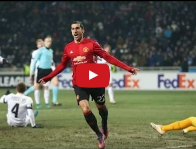 Zorya 0 - 2 Manchester United (vòng bảng Europa League)