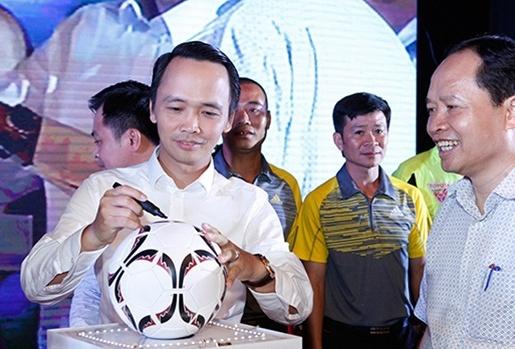 Ông bầu CLB Thanh Hóa nói lại việc BTC V-League phân biệt đối xử