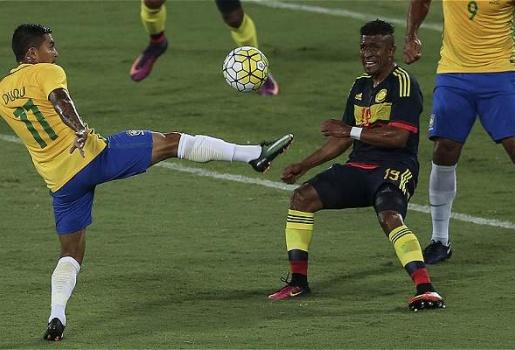Brazil 1-0 Colombia: Hấp dẫn nhưng khan hiếm bàn thắng