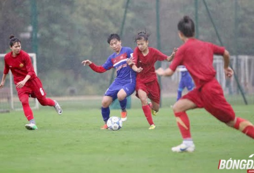 Tuyển nữ Việt Nam thắng đậm trong trận đấu kỷ niệm ngày 8/3