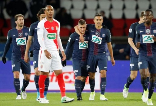 Dùng 'đội hình 3', Monaco thua thảm PSG ở bán kết