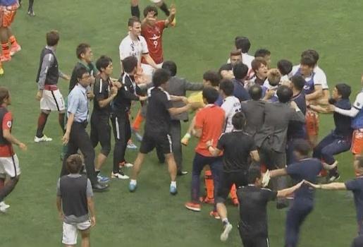 Đội bóng Hàn Quốc loạn đả ở AFC Champions League