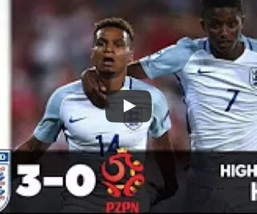 Highlights: U21 Anh 3-0 U21 Ba Lan (U21 châu Âu)