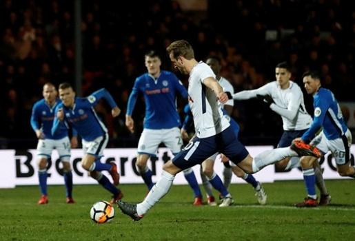 Highlights: Rochdale 2-2 Tottenham Hotspur (Vòng 5 FA Cup)