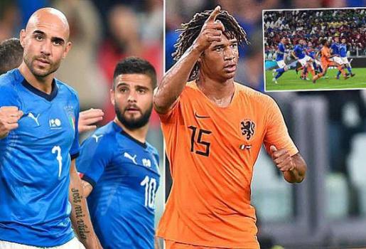 Hà Lan thoát hiểm phút chót trước Italia