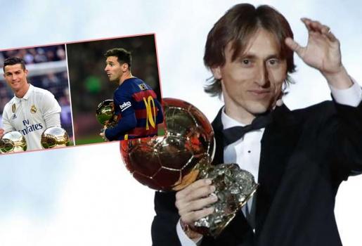 Bản tin BongDa ngày 4.12 - Modric lật đổ đế chế Messi - Ronaldo