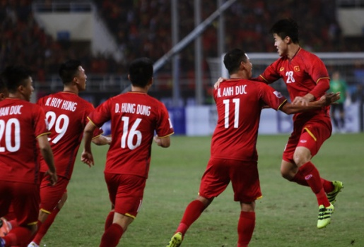 Chỉ sau 5 phút, tuyển Việt Nam đã nhận tiền tỷ thưởng nóng