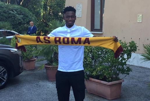 Diawara nói lời xúc động trong ngày khoác áo AS Roma