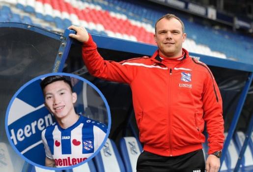 Phớt lờ Đoàn Văn Hậu, HLV SC Heerenveen tiết lộ đội hình ra sân tại vòng 8