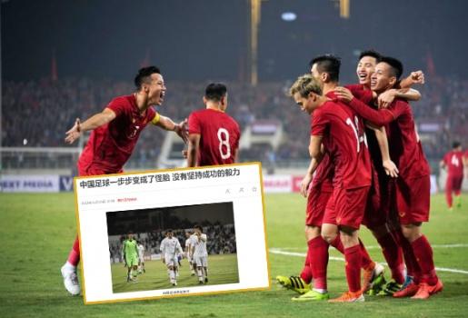 Báo Trung Quốc: Khen ngợi sức mạnh của ĐT Việt Nam, chạnh lòng về đội nhà