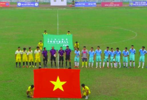 SỐC! Chỉ cho 4 cầu thủ ra sân, đội Hạng Ba chuẩn bị nhận án phạt từ VFF