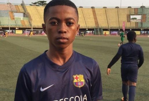 Messi thế hệ tiếp theo đến từ Nigeria?
