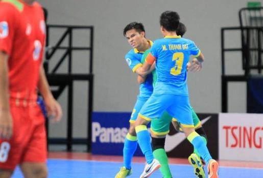 Futsal CLB Châu Á 2016: Sanna Khánh Hòa thăng hoa trận khai mạc