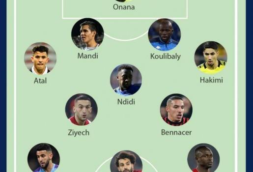 Đội hình cầu thủ châu Phi xuất sắc nhất 2019: Không thể thiếu Salah và Mane
