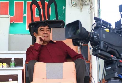 Phó chủ tịch VFF - Nguyễn Xuân Gụ xuất hiện trên Pleiku