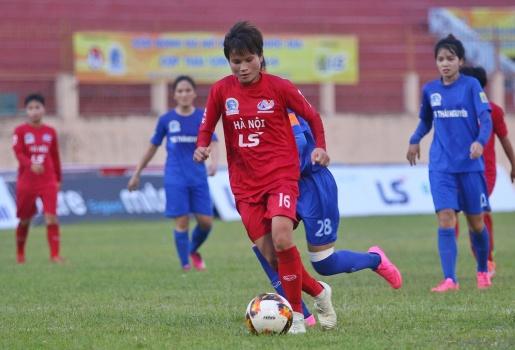 Giải VĐQG nữ 2019: Đại thắng TNG Thái Nguyên, Hà Nội gia nhập nhóm đầu