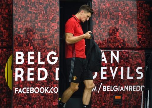 Trung vệ Thomas Meunier, một trong những nhân tố bí ẩn của Bỉ tại EURO lần này. Ảnh: Internet.