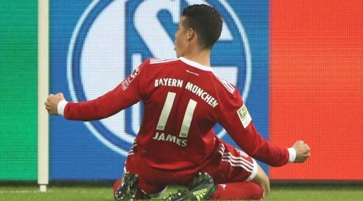 James Rodriguez ghi dấu cột mốc mới tại Bundesliga - Bóng Đá