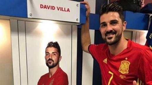 David Villa xúc động ngày trở về: Tôi không nghĩ mình được chào đón đến vậy - Bóng Đá