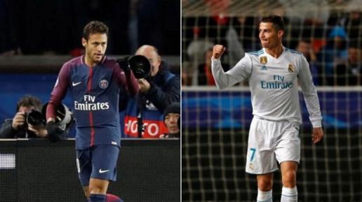 """tipmobi Ronaldo vs Neymar: Ai chạm tới kỷ lục """"khủng"""" lượt trận cuối vòng bảng Champions League?"""
