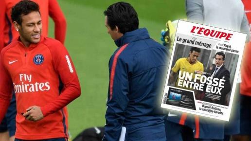 Neymar ngày càng thiếu tôn trọng đối với Emery - ảnh 1
