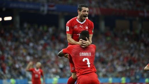 Chấm điểm kết quả Thụy Sĩ 2-2 Costa Rica